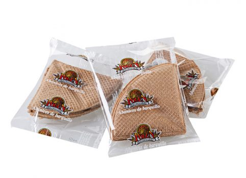 snack saludable abanico