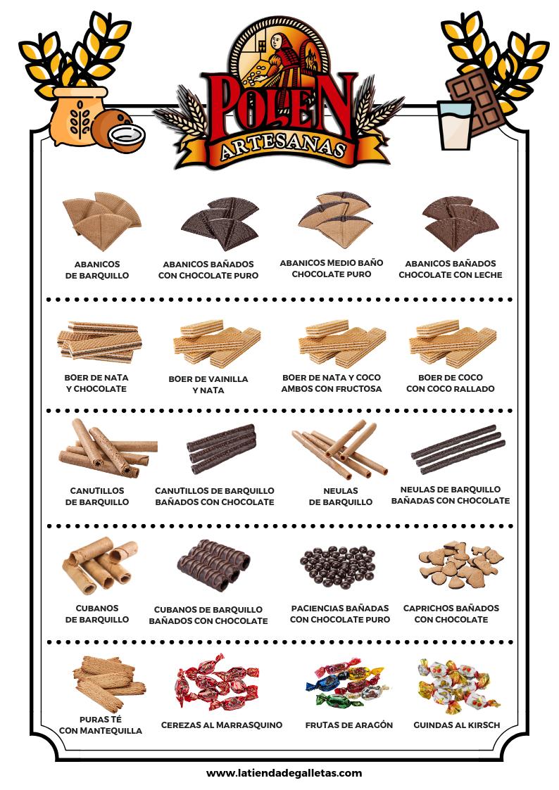 fabricantes de galletas