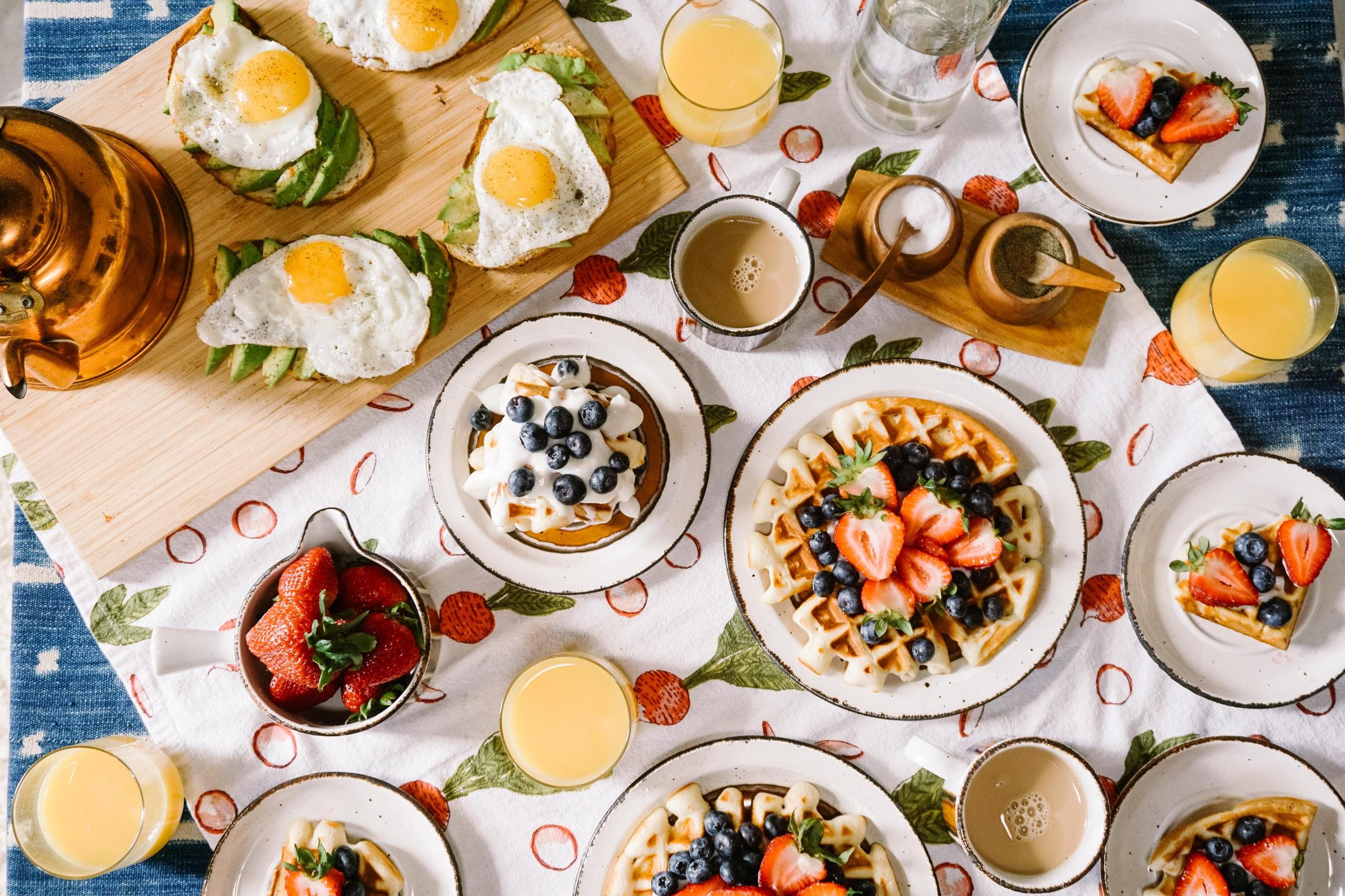 desayuno saludable snacks